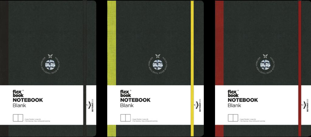 blank notebooks ribbons