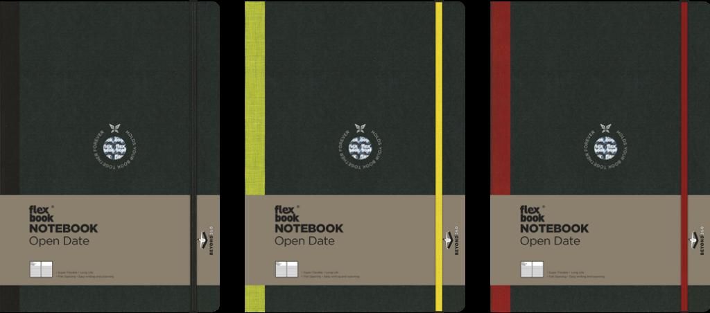 open date notebooks
